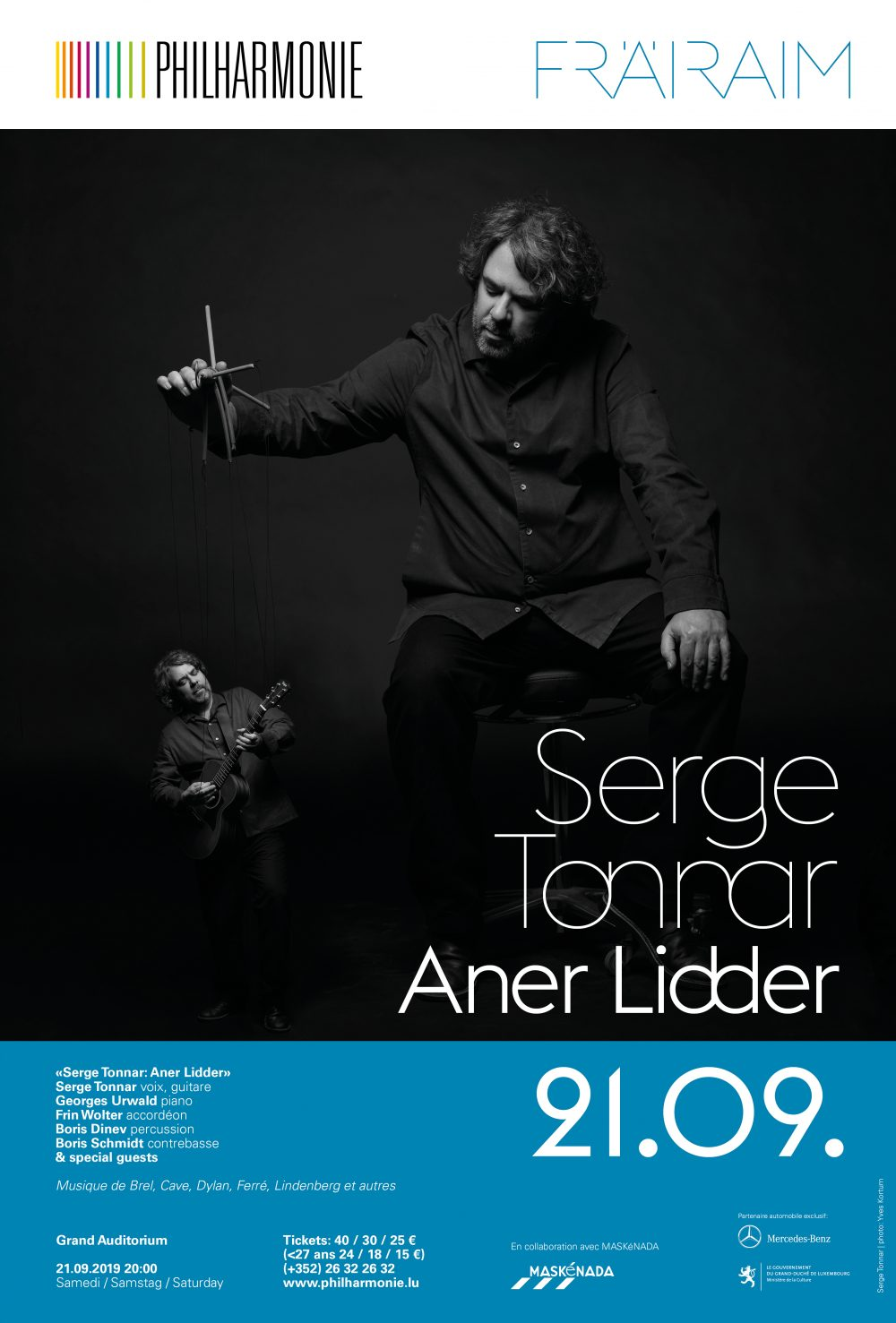 Serge Tonnar: Aner Lidder